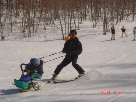 伸也の車椅子目線からのつぶやき~スキー編